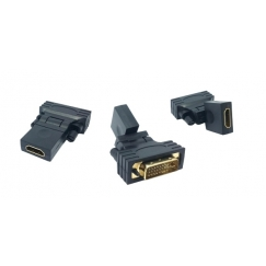 HDMI to DVI 360˚ Rotating Swivel Converter