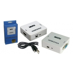 MINI HDMI to VGA + Audio Converter
