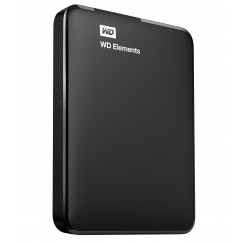 WD Elements External HDD 1TB USB3.0 WDBUZG0010BBK