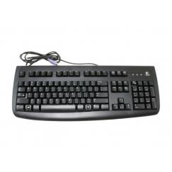 Logitech Black 104 Normal Keys PS/2 Standard Deluxe 250