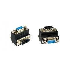 VGA to VGA 90° Angled Converter