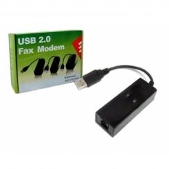 מודם פקס חיצוני Fax Modem USB2.0 External Chipset Conexant CX93010