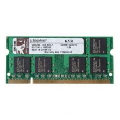 Kingston 1GB 667MHz DDR2 SO-DIMM KVR667D2S5/1G