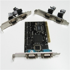 SEDNA PCI 6 Ports RS232 Serial Port Adapter SE-PCI-6S