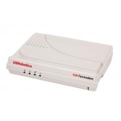 מודם פקס חיצוני Fax Modem External COM RS-232 USRobotics USR135630G