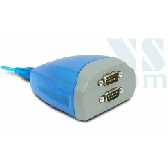 VScom USB to 2 RS232 Ports Adapter USB-2COM