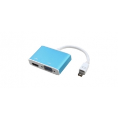 Mini DisplayPort to HDMI+VGA Combo Converter