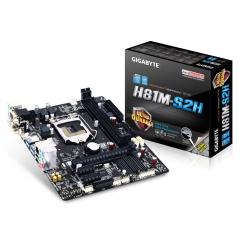 Gigabyte Micro-ATX Motherboard GA-H81M-S2H