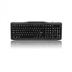 iMicro Modern Series 107-Key USB Keyboard (Black) - KB-US9851