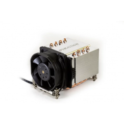 FAN Dynatron R24 2U Aluminum Heatpipe Active Cooler CPU For Socket 2011 2066