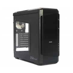 Zalman Black Mid Tower Computer Case Z12