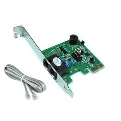 מודם פקס פנימי Fax Modem PCI-E 56K V.92 Card