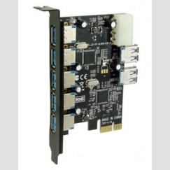 SEDNA PCIE USB 3.0 7 Port Adapter SE-PCIE-USB3-07