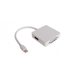 Mini DisplayPort to HDMI+DVI Combo Converter