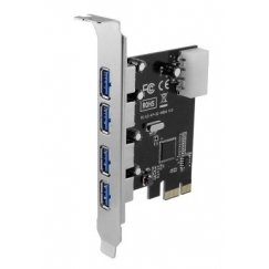 SEDNA PCIE USB 3.0 4 Port Adapter SE-PCIE-USB3-4E